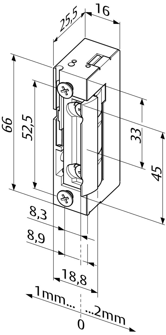 Beliebt Elektro-Türöffner - Elektro-Türöffner - Standardanwendungen YJ14