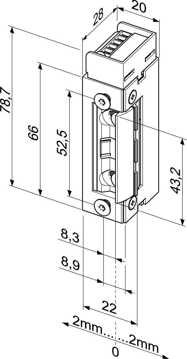 Hervorragend Elektro-Türöffner - Elektro-Türöffner - Feuer- und Rauchschutz WS54