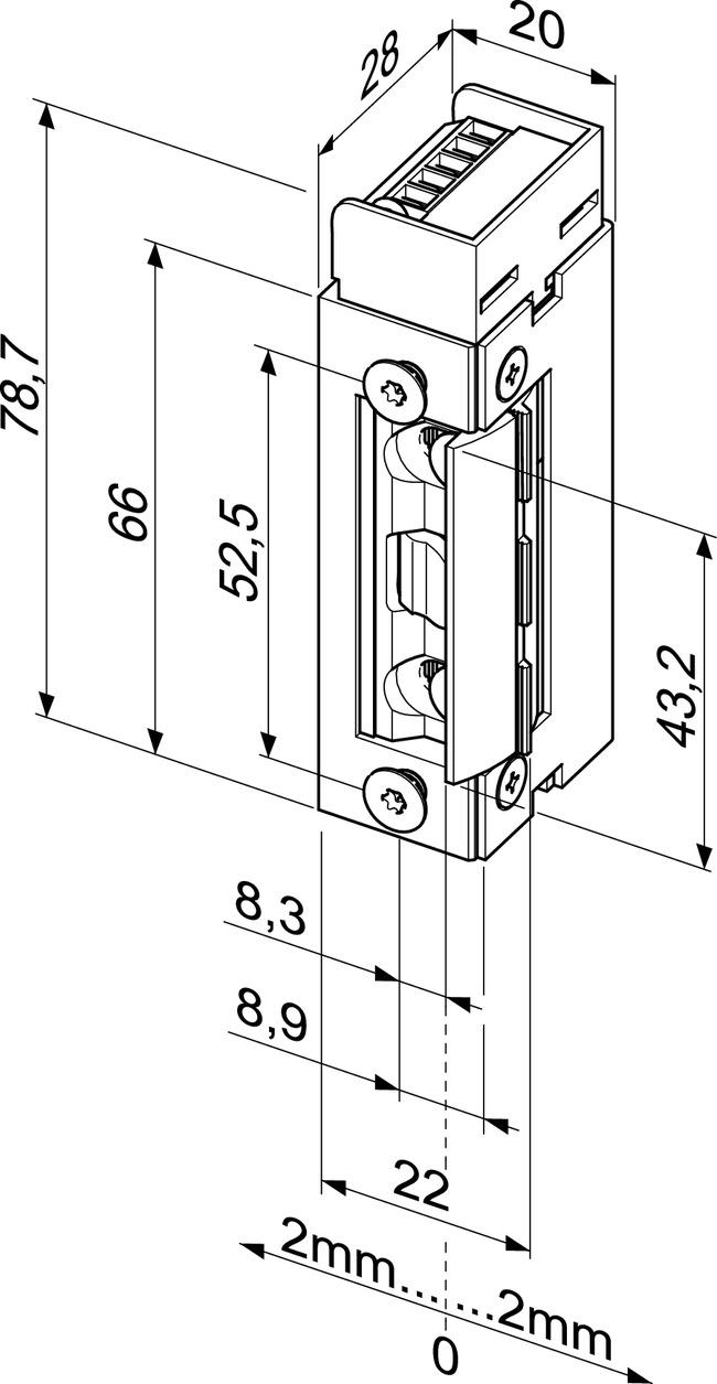 Elektro-Türöffner - Elektro-Türöffner - Modellreihe 143 ...