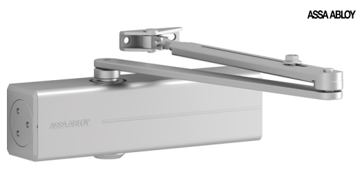 Dc200 Door Closer Overhead Door Closer With Drive Rod
